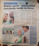 Bowell Cancer - Hemmel Gazette