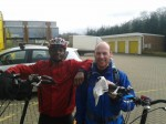 Idai with Ultra-Cyclist Steve Abraham