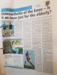 Osteoarthritis of the knee - is it just for the elderly