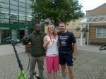 Idai with Olympic Gold Medallist Pippa Wilson