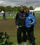 Idai & British Olympian Andrew Osagie