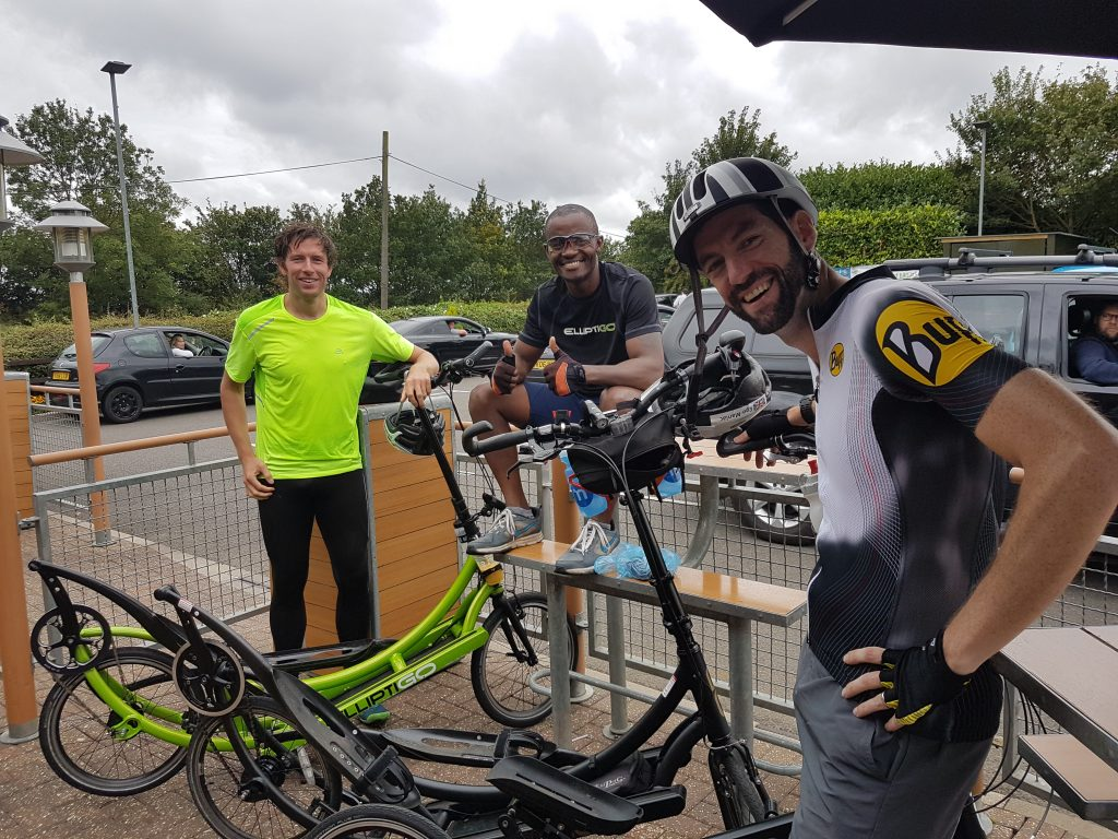 10-mile ElliptiGO Time-Trial (on 10 Sept 17).