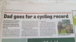 News Article about my ride across Britain.