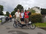 Billy starting the LEL 2017 Audax