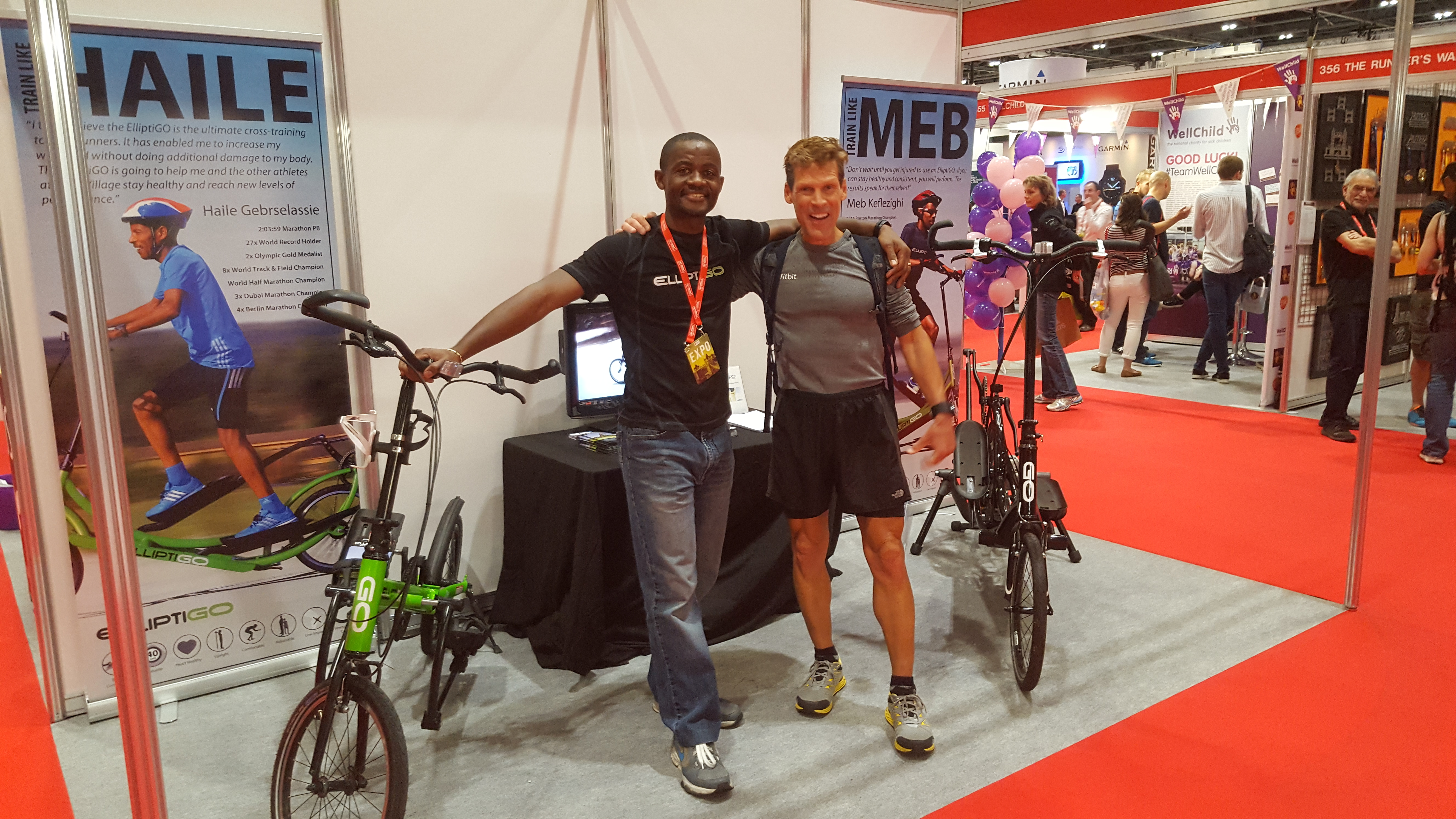 Idai Makaya with Dean Karnazes (19 April 17)
