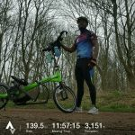 My 19 March 2017 225km ride in memory of Garai Makaya: See (https://youtu.be/2W3CxLvNcPg).