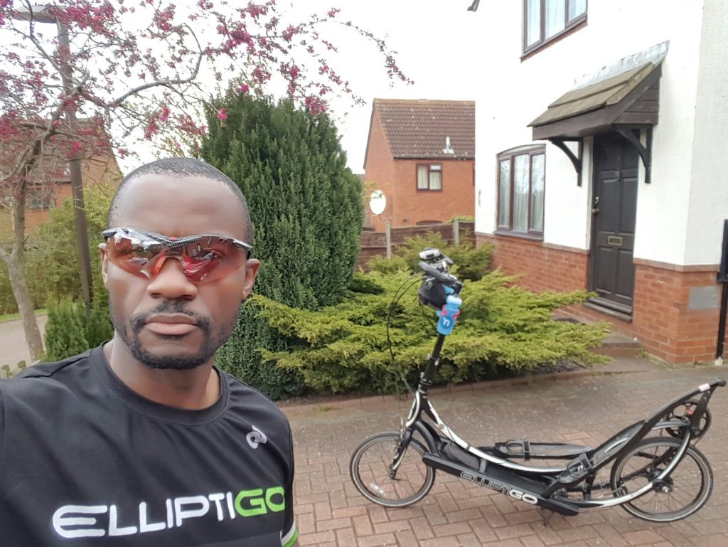 Idai Makaya, Training for 5-day LEJOG (April 2016)