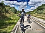 Idai riding during PBP 2015 – 1,230km in 83 hours & 38 minutes…