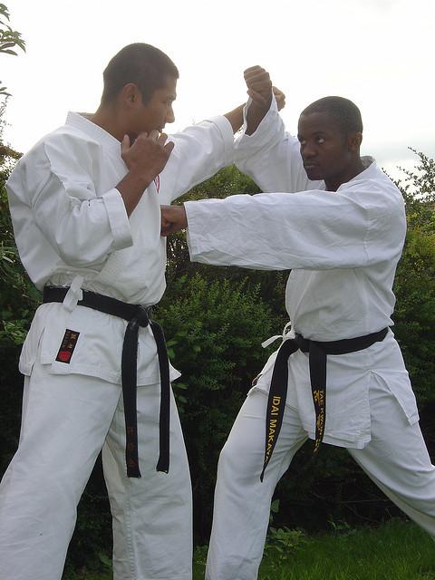 Idai Makaya - Karate Training