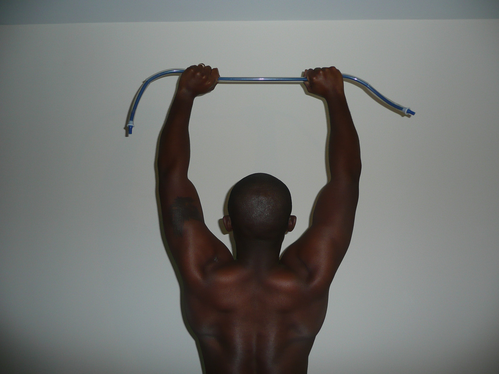 Idai Makaya Resistance Band Training Pic