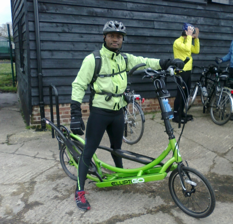 Idai Makaya with ElliptiGO 8S