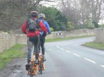 "Idai and Chris ""Hoppo"" Hopkinson riding 100-miles in Training."