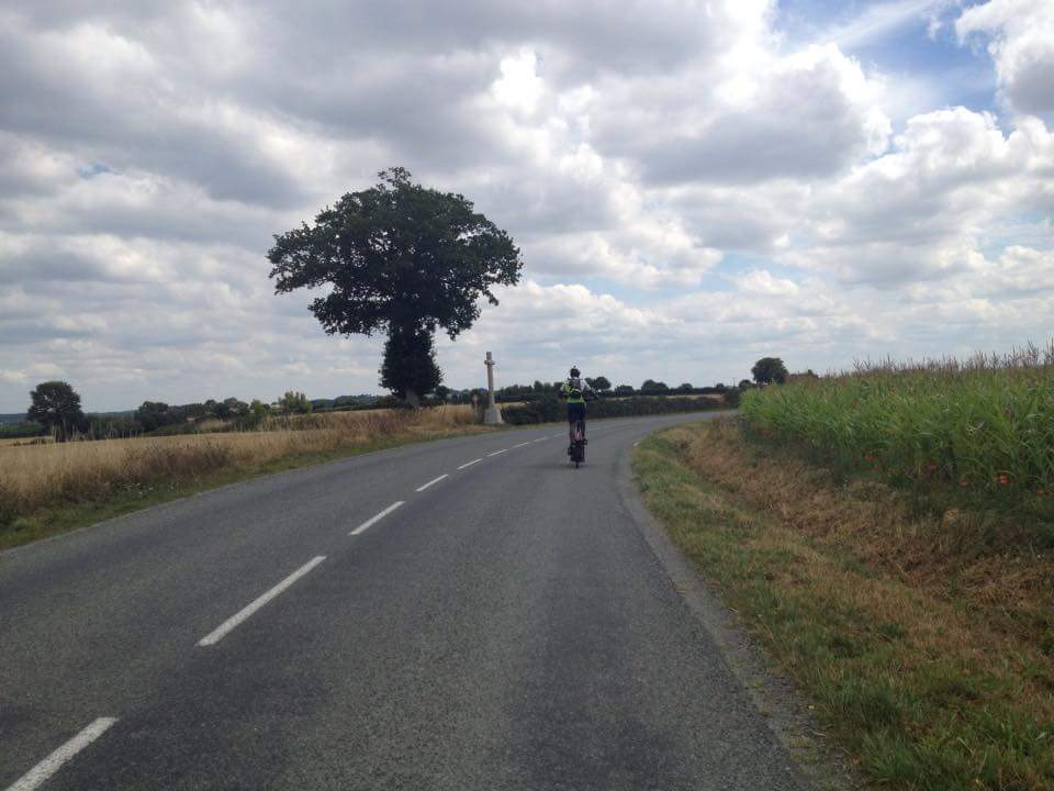 Idai during PBP 2015 - 1230km in 83.5 hrs
