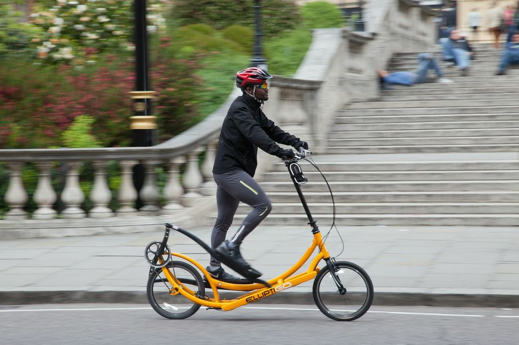 ElliptiGO in London