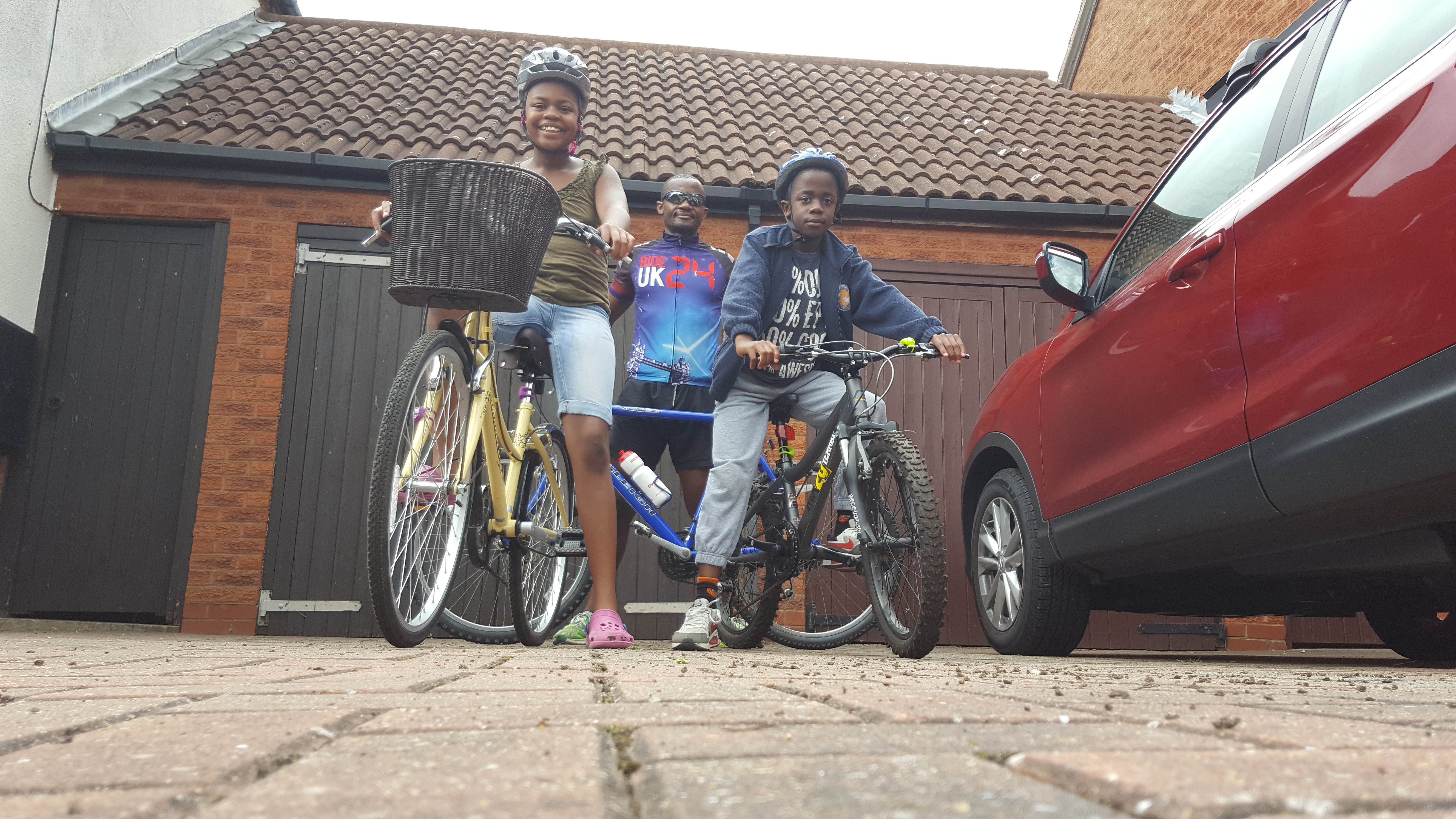 My longest mountain bike ride, to date, with the children 28 Aug 16