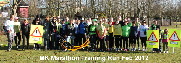 Milton Keynes Marathon Training Group