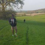 Walking at the Picnic spot