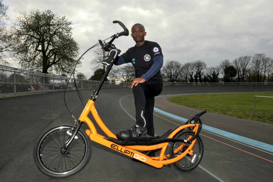 Photo-shoot for Ride Around London 2012.