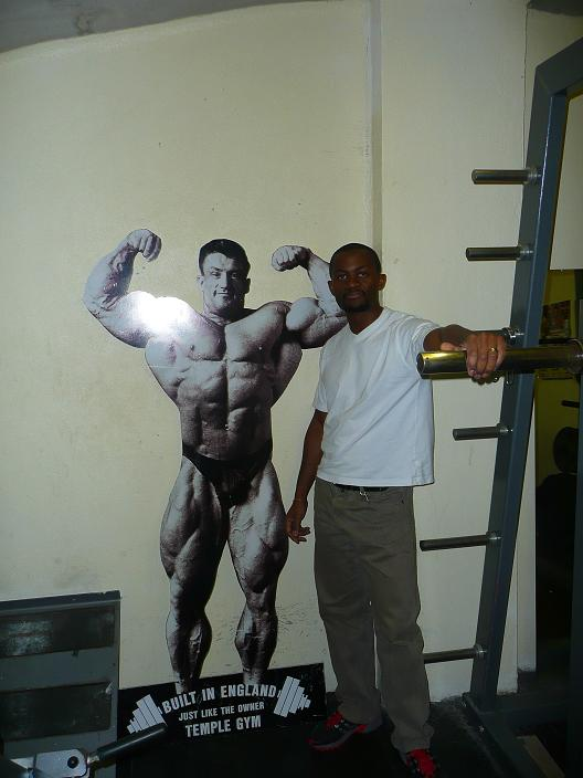 This Cut-out gives an Idea of Dorian's Competition Physique...
