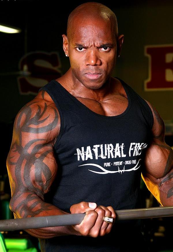 Flex Wheeler in his 40s - Now drug free and fully 'Natural'...