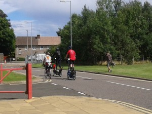 London Edinburgh London (LEL) 2013 - 1418km (887-miles) By ElliptiGO Bike.