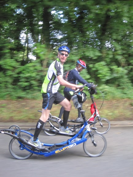 London Edinburgh London (LEL) 2013 - 1418km (887-miles) By ElliptiGO Bike.