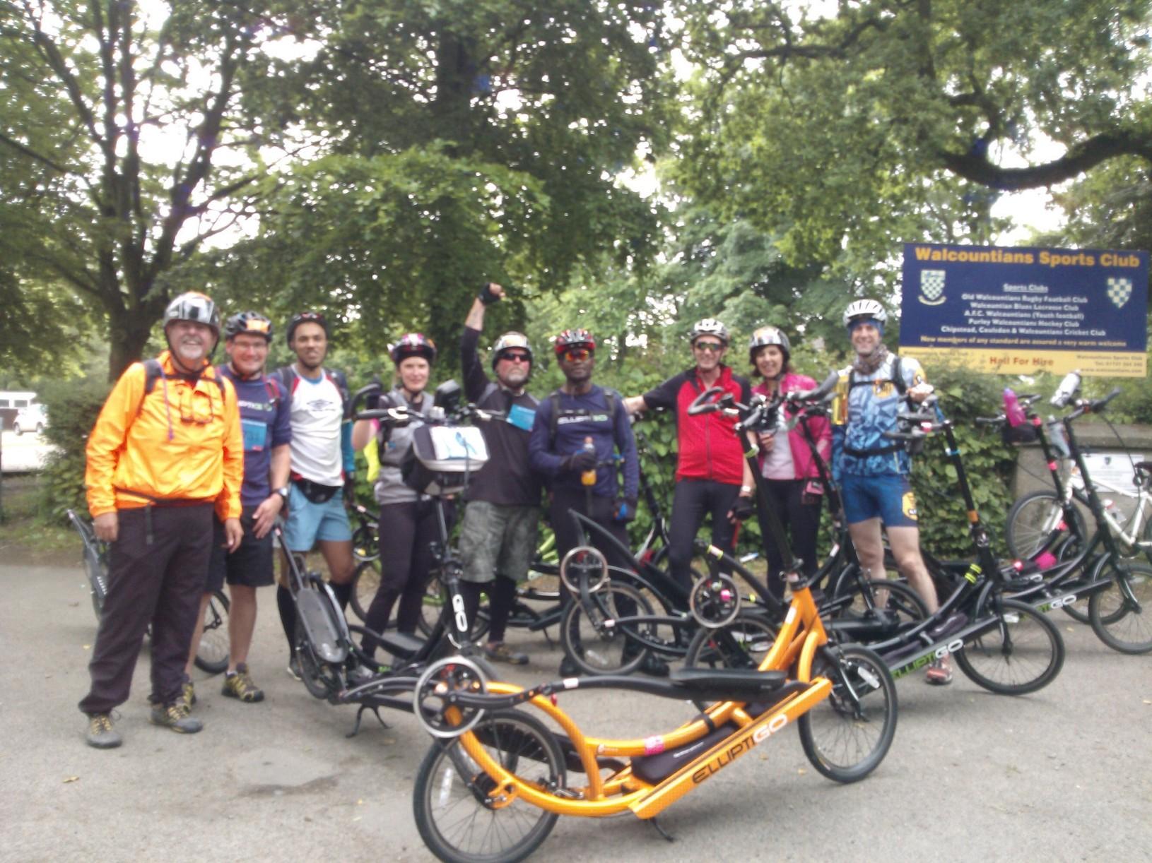 Milton Keynes ElliptiGO Club Ride
