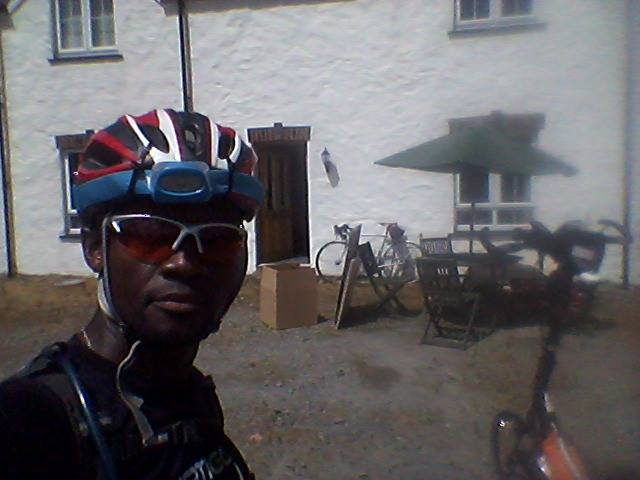At Cilgerran, control checkpoint 5 at 360 km.