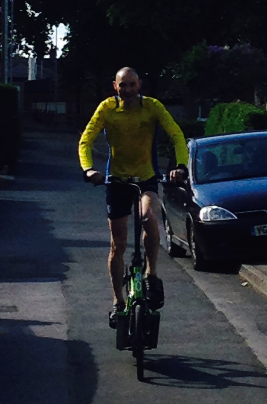 Simon Newton ElliptiGO Cycling.