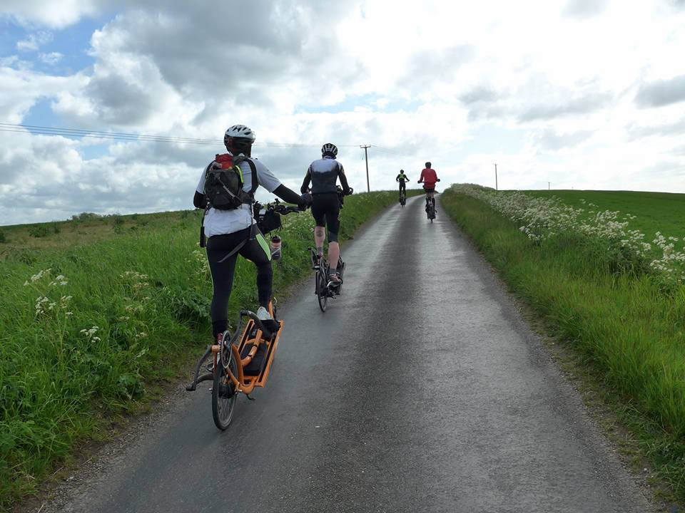 In 2015, I rode the 600km Windsor Chester Windsor Audax in under 40 hours, on the ElliptiGO 8C... Yes, I was often at the back of the ElliptiGO group, but we all finished together!