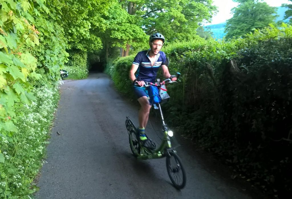 Tim Woodier Everesting on 14 May 2017...